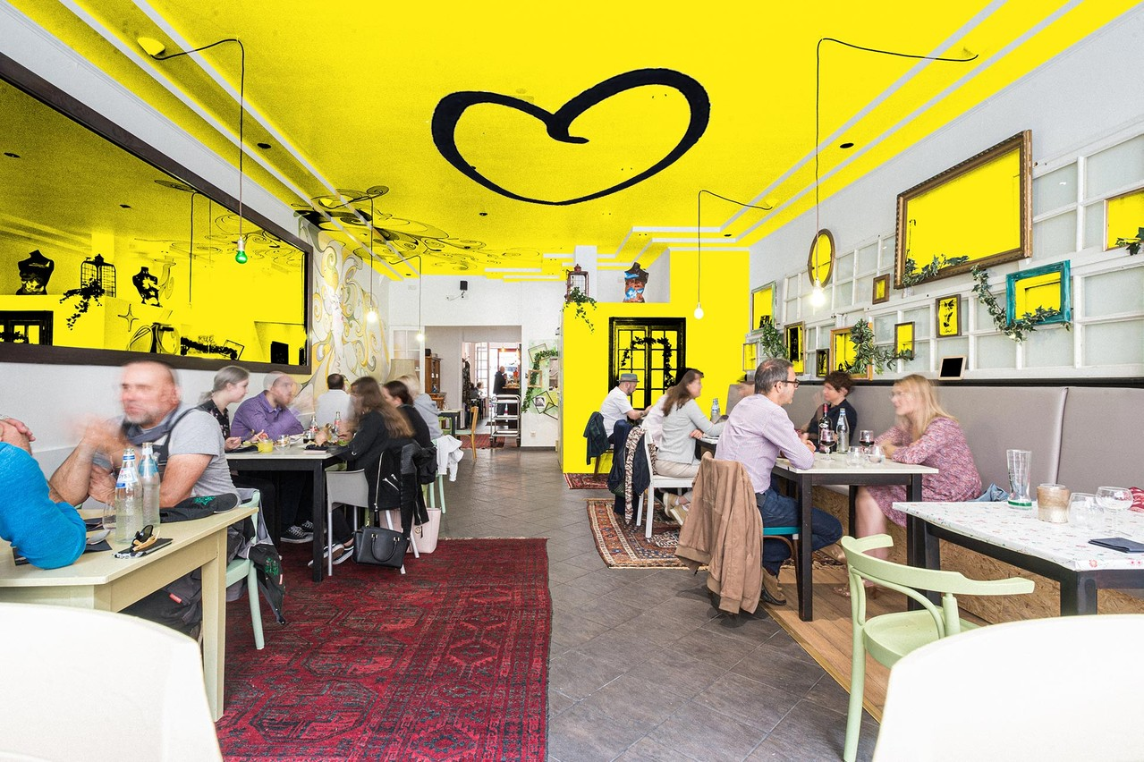 Chiche! Esch, ouvert l'année dernière, jouera sans doute un rôle social et gourmand très central lors des manifestations d'Esch 2022. (Photo/Design: Maison Moderne)