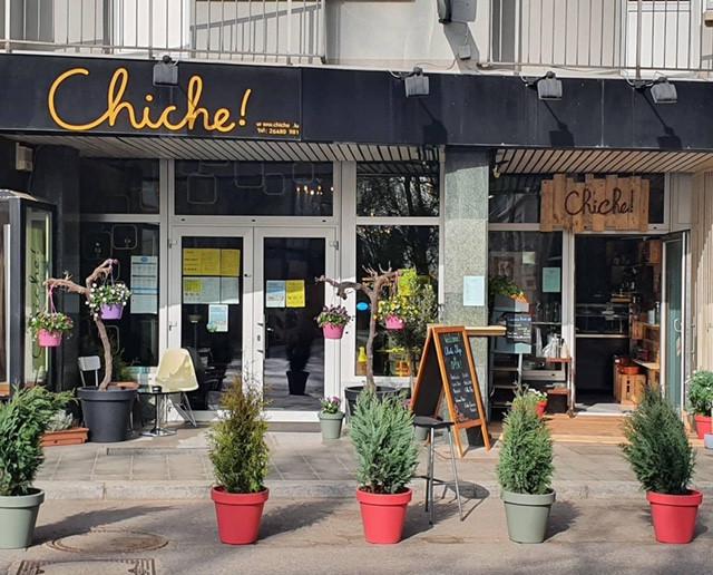 La nouvelle boutique take-away jouxte le restaurant Chiche! au Limpertsberg. DR