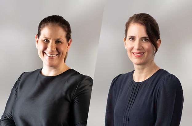 Maren Stadler-Tjan et Stefanie Ferring, nouvelles associées chez Clifford Chance Luxembourg. (Photo: CliffordChance)