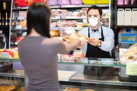 Un régime d'aides spécifiques et non remboursables a été mis en place pour le commerce de détail, à condition de remplir les critères d'admission. (Photo: Shutterstock)
