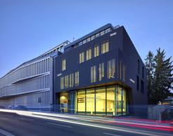 Des mots sous forme de néons viendront se positionner sur le bâtiment de l'OAI. ((Photo: Filip Markiewicz))