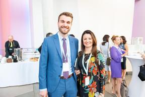 Gilles Mencucci et Nancy Constantino (BCEE) ((Photo: LaLa La Photo, Keven Erickson, Krystyna Dul))