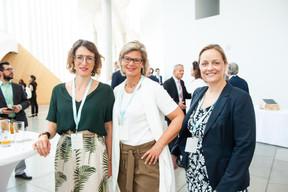 Cécilia Vernhes (Forethix), Corinna Frank et Isabel Burkel (DZ Privatbank) ((Photo: LaLa La Photo, Keven Erickson, Krystyna Dul))