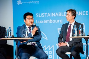 Kaiyu Yang (ICBC Luxembourg) et Constantine Rinn (UBS Luxembourg) ((Photo: LaLa La Photo, Keven Erickson, Krystyna Dul))