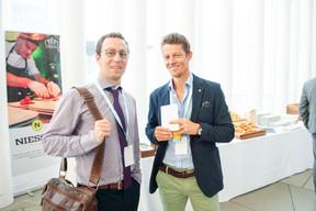 Thomas Lammar (ministère des Affaires étrangères et européennes) et Baas Brimer (Lux-Development) ((Photo: LaLa La Photo, Keven Erickson, Krystyna Dul))
