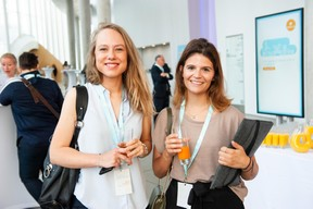 Cécile Bonnomet (Banque de Luxembourg) et Laura Giallombardo (Banque de Luxembourg) ((Photo: LaLa La Photo, Keven Erickson, Krystyna Dul))