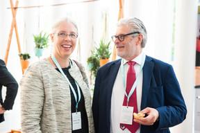 Denise Voss (Luxflag) et Denis Childs (Société Générale CIB) ((Photo: LaLa La Photo, Keven Erickson, Krystyna Dul))