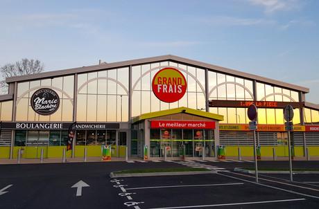 Il était attendu à Mersch: Grand Frais ouvrira sa deuxième surface de vente à Wickrange. (Photo: Grand Frais)