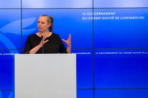 La faute reviendrait selon elle à Valorlux, qui n'a pas communiqué clairement sur cette liste, et à l'administration de l'environnement, qui ne l'a pas repérée, selon la ministre de l'Environnement, du Climat et du Développement durable, CaroleDieschbourg (Déi Gréng). (Photo: SIP/EmmanuelClaude)