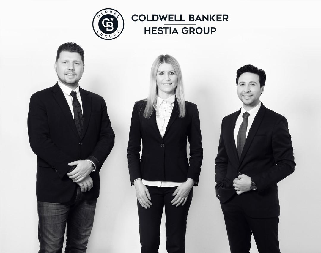 Charlie Luthar, Caroline Gachet et Michel Cucchiara – Coldwell Banker Coldwell Banker