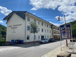 L'hôtel-restaurant est le dernier bâtiment avant la frontière avec l'Allemagne. ((Photo: Paperjam))