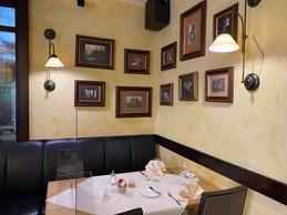 Dans le café comme dans le restaurant, les photos de l'histoire de l'endroit sont partout. ((Photo: Paperjam))