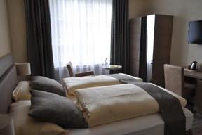 Une des 30 chambres de l'établissement, classé comme «élegant» par Logis de France. ((Photo: Hôtel Dimmer))