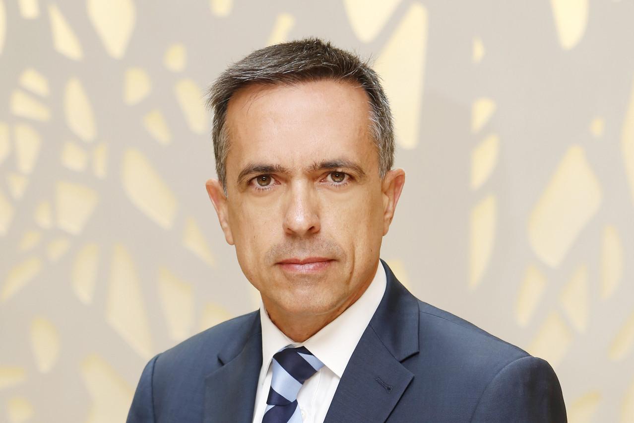 Jean-Pierre Gomez, Head of Regulatory & Public Affairs,Société Générale Securities Services Luxembourg. (Photo: Olivier Minaire)