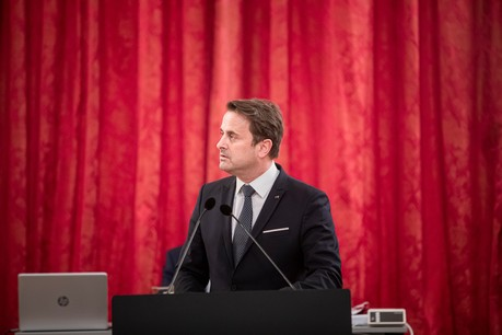 Le discours 2020 sur l'état de la Nation prononcé mardi par Xavier Bettel sera, plus que probablement, largement consacré à la crise du Covid-19 et ses conséquences directes et indirectes. (Photo: Jan Hanrion / archives Paperjam)