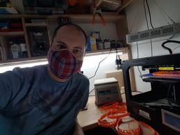 Selfie d'un bénévole. ((Photo: DR))
