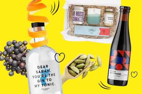 Bière, gin, chocolat, bougies... le tout local: jado.lu combine artisanat et design pour ses produits personnalisables.  (Design: Sascha Timplan/Maison Moderne)