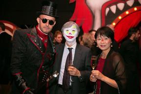 György Gattyán (Docler Holding), Shigeji Suzuki (Ambassadeur du Japon au Luxembourg) et son épouse ((Photo: Bor Zoltan))