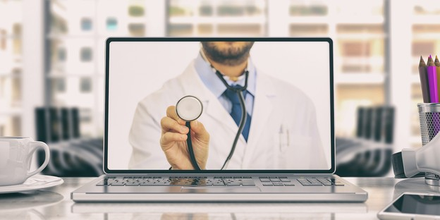 Le coronavirus a accéléré l'adoption de la téléconsultation médicale. Remboursée depuis lundi par la Caisse nationale de santé, elle sera possible, techniquement, à partir de ce vendredi matin. (Photo: Shutterstock)