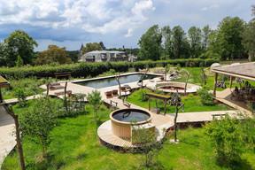 The wellness area.  Domaine de Ronchinne