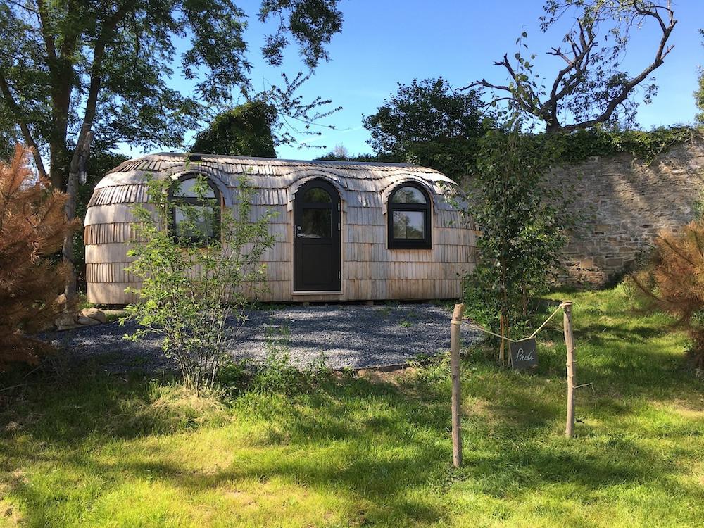 The hut. Domaine de Ronchinne