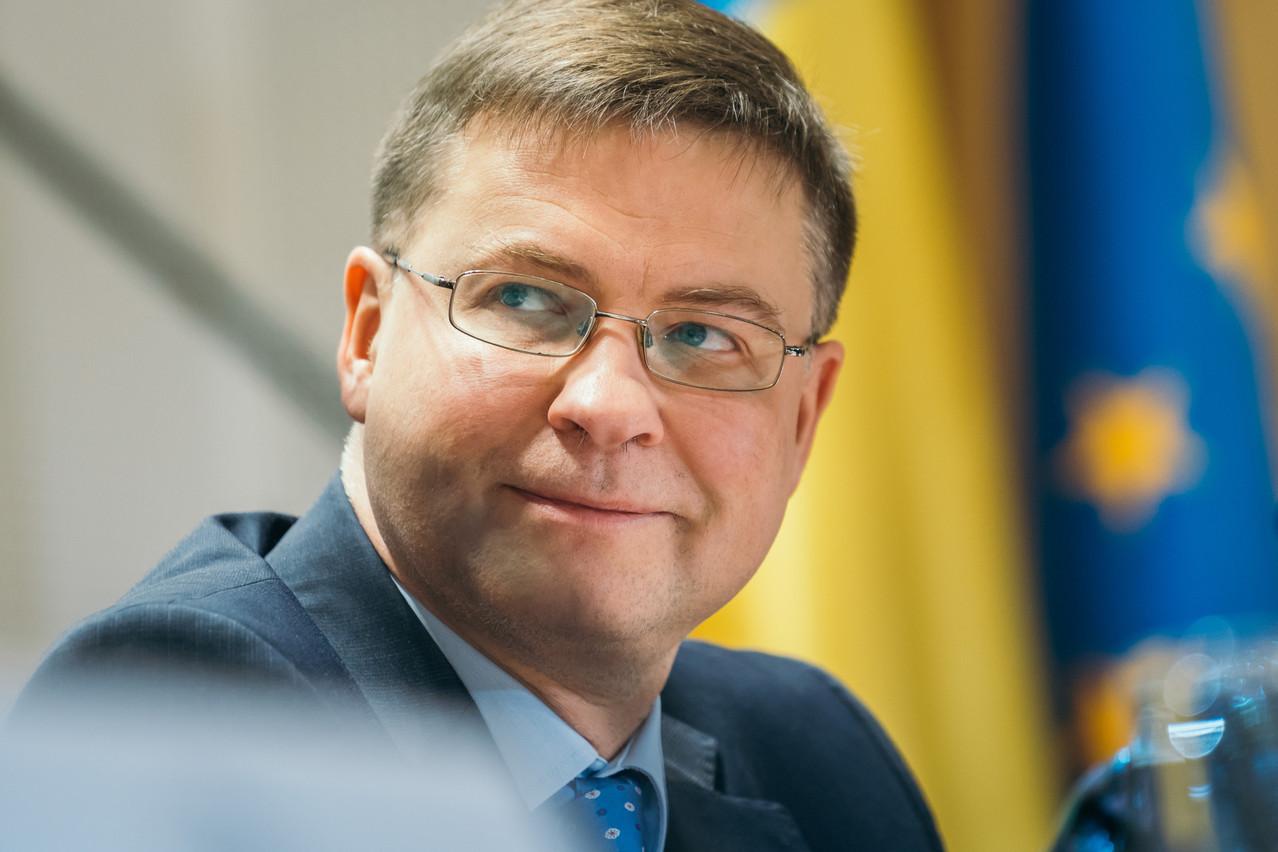 Valdis Dombrovskis, 49ans, était déjà un des vice-présidents de la Commission européenne. (Photo: Commission européenne / Services financiers)