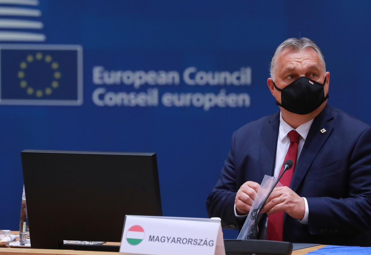 Hungary's PM Viktor Orban. Hungary and Poland are facing EU fund freezes over rule of law violations Photo: European Union