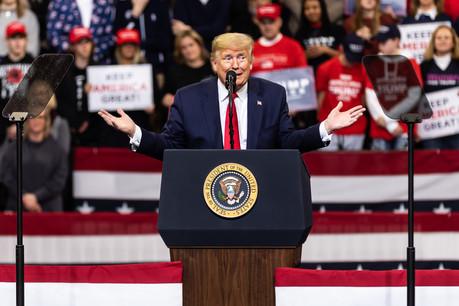 Avec un Sénat acquis à sa cause, le président DonaldTrump savait qu'il ne risquait rien. (Photo: Shutterstock)