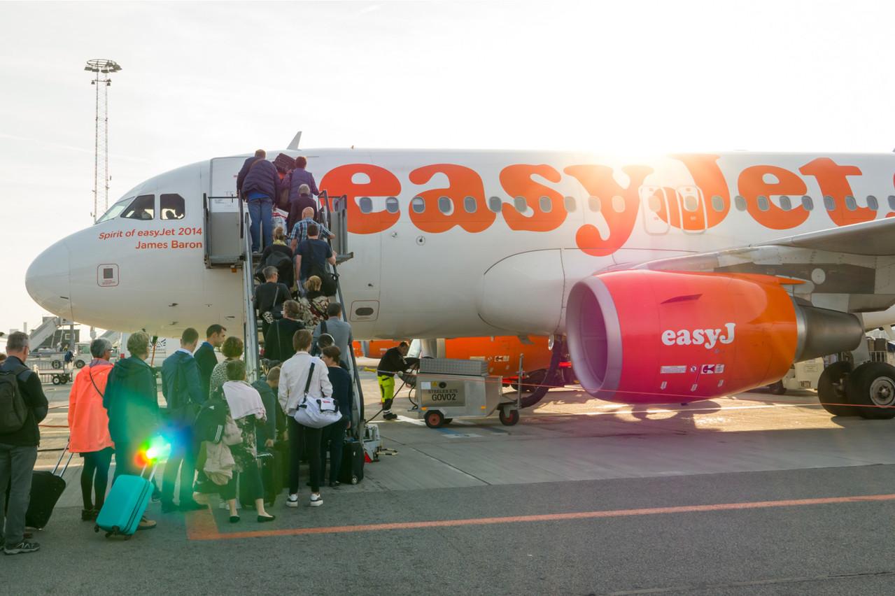 EasyJet, qui vole aussi depuis le Findel, a révélé ce mardi s'être fait dérober les informations personnelles de 9 millions de clients. (Photo: Shutterstock)