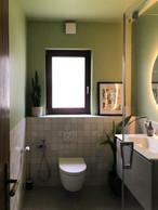 La salle de bains de Vaishnavi et Sriram après les rénovations. ((Photo: DR))