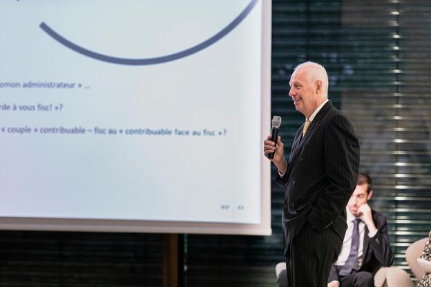 Alain Steichen (Bonn Steichen & Partners) évoque un mouvement de balancier du fisc qui devrait s'équilibrer à l'avenir. (Photo: Jan Hanrion/Maison Moderne)