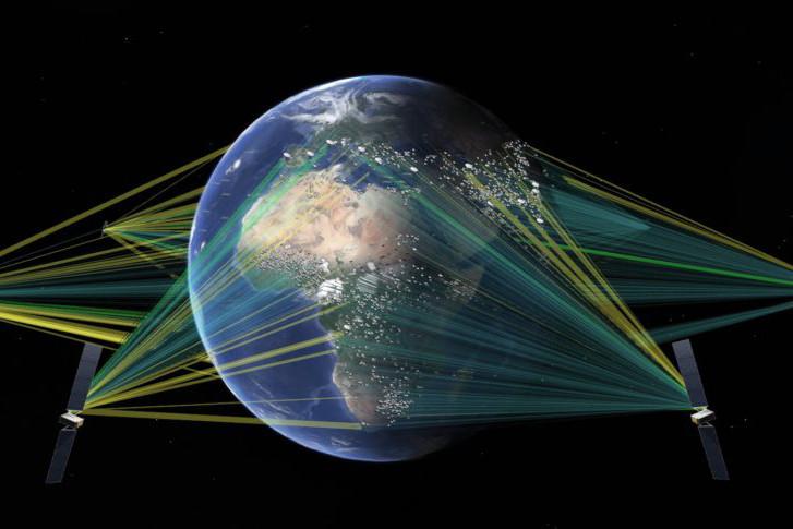 La nouvelle constellation de SES doit répondre aux problématiques que les géants du net tentent de résoudre avec le lancement de leurs propres constellations de satellites. (Photo: SES)
