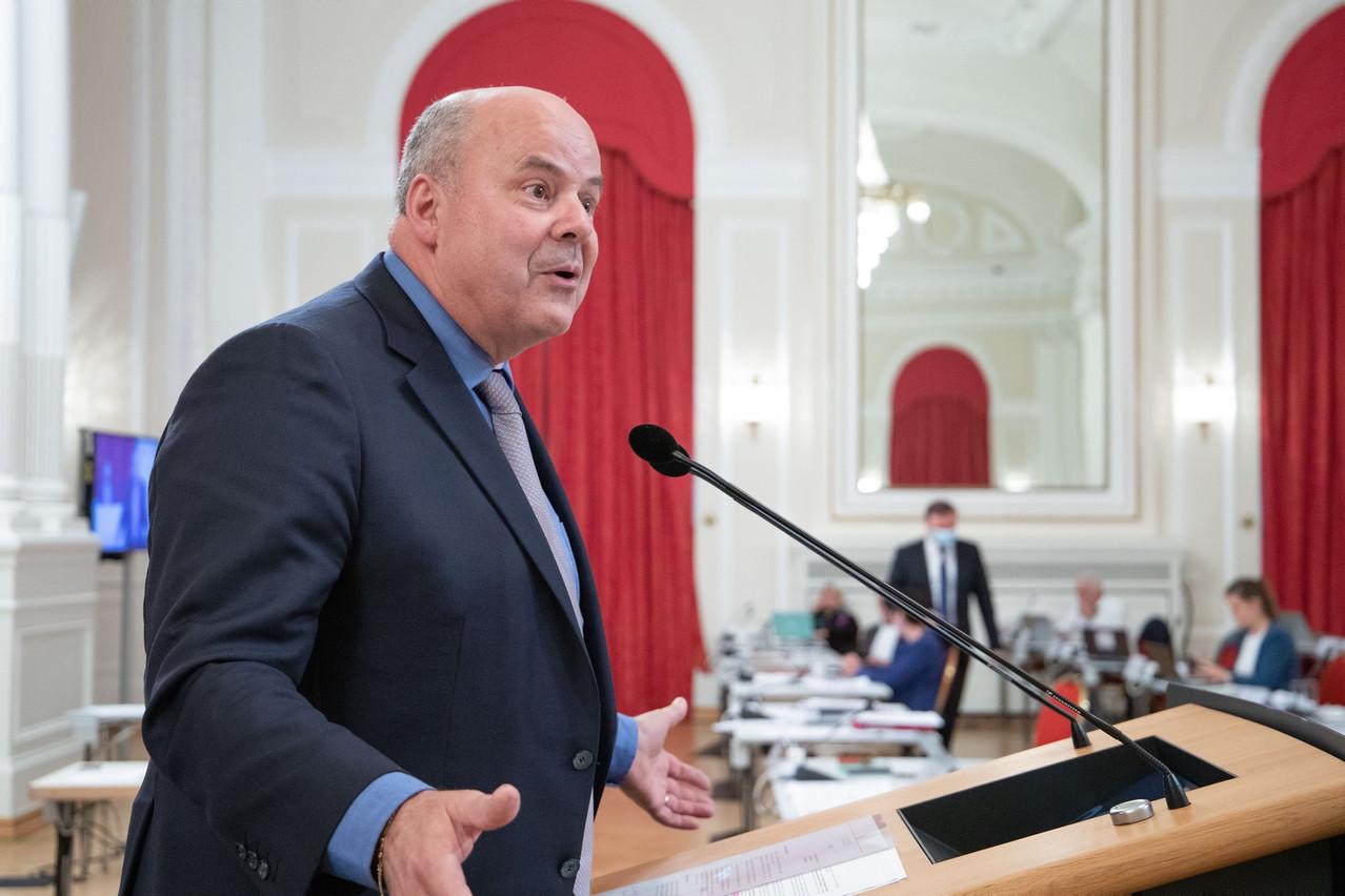 Le député MarcSpautz (CSV) dénonce une opposition purement politique de la part du DP à sa proposition de loi sur la réindexation des allocations familiales. (Photo: Chambre des députés/Flickr)