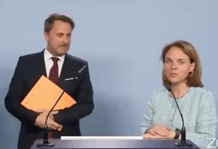 Tant Xavier Bettel que Corinne Cahen sont revenus sur l'importance vitale des frontaliers pour l'économie nationale. (Photo: capture d'écran / DP)
