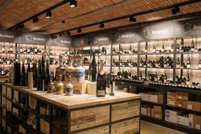L'enseigne a ouvert sa propre vinothèque en 2018. ((Photo: Matic Zorman/Maison Moderne))