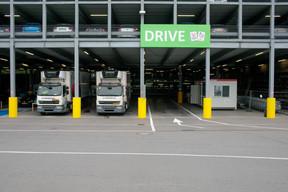 Le drive est ouvert aux particuliers et aux professionnels de la restauration. ((Photo: Matic Zorman/Maison Moderne))