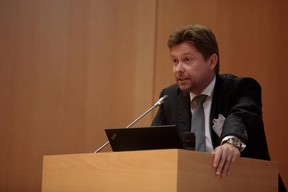 Gabriel Bleser, président de l'ALEDC ((Photo: Matic Zorman))