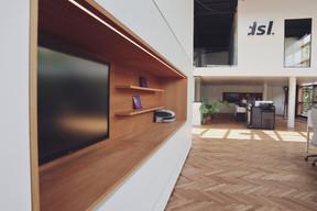 Laurent Loschetter se félicite de ses nouveaux bureaux, spacieux et lumineux. ((Photo: DSL))