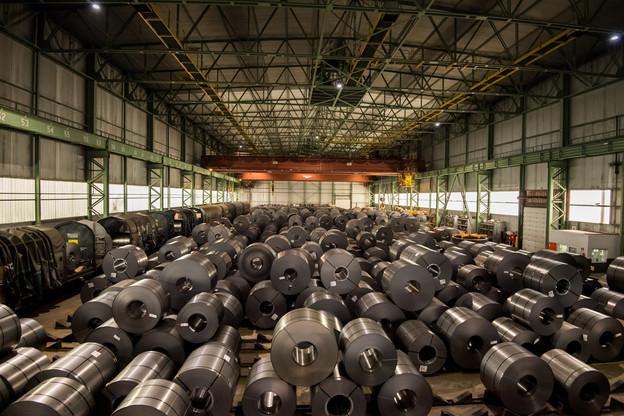 85 salariés sont toujours au chômage partiel sur 220postes de travail au sein de l'usine Libeerty Steel à Dudelange. Alors que le marché est très demandeur de ses produits. (Photo: Nader Ghavami/Maison Moderne)