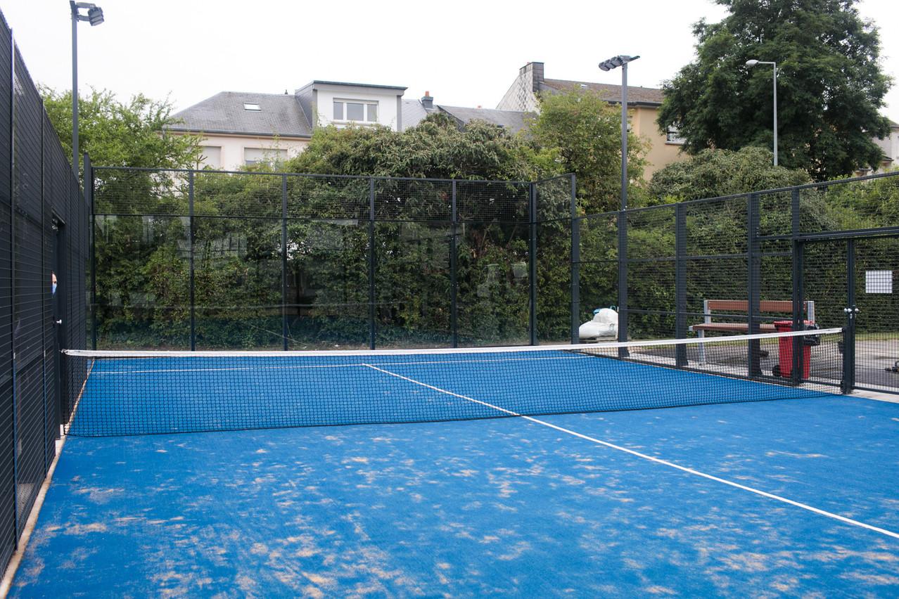 Le terrain de paddle tennis est ouvert à tous gratuitement sur réservation. (Photo: Matic Zorman/Maison Moderne)