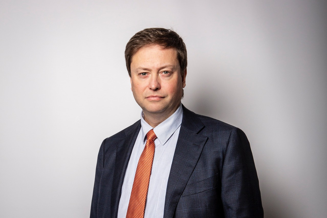 Philippe Ledent, expert économiste chez ING Belux. (Photo: Patricia Pitsch / Maison Moderne)