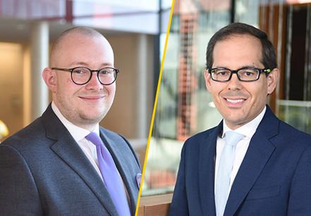 James Gillham et Fernando Longares (Crédit Photo: EY Luxembourg)