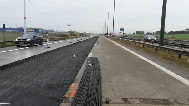 La Sofico a choisi l'été pour certains travaux afin d'impacter au minimum la circulation. (Photo: Sofico)