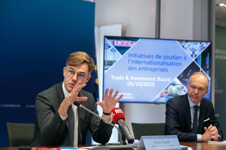 FranzFayot poursuit la visite d'entreprises et d'institutions. Le ministre de l'Économie se rendra cette semaine à la Chambre de commerce, à l'origine notamment de propositions pour une relance de l'économie. (Photo: Matic Zorman / Maison Moderne)