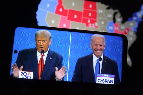 Donald Trump et Joe Biden s'affrontent pour une élection très polarisée, très dépensière et source de tensions dans le pays. (Photo : Shutterstock)