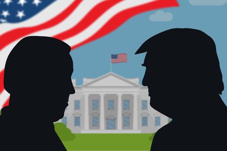Biden ou Trump à la Maison Blanche? La réponse tombera mercredi matin, sans doute. (Photo: Shutterstock)