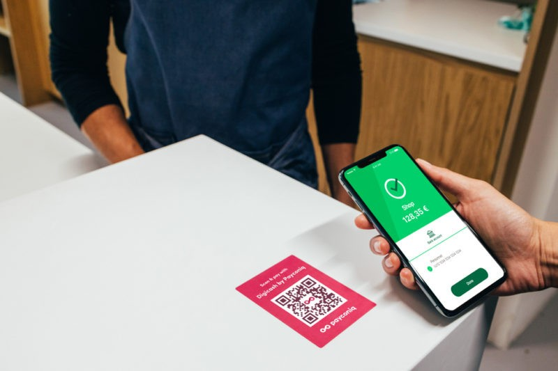 In Luxembourg, half of all electronic payments are made with a smartphone, according to EPA EU Photo: Payconiq