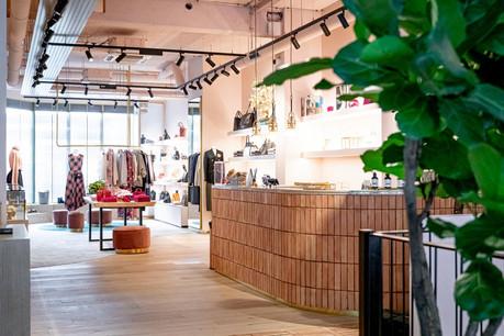 La boutique Muse by… dévoile une architecture d'intérieure très soignée. (Photo:Patricia Pitsch / Maison Moderne)