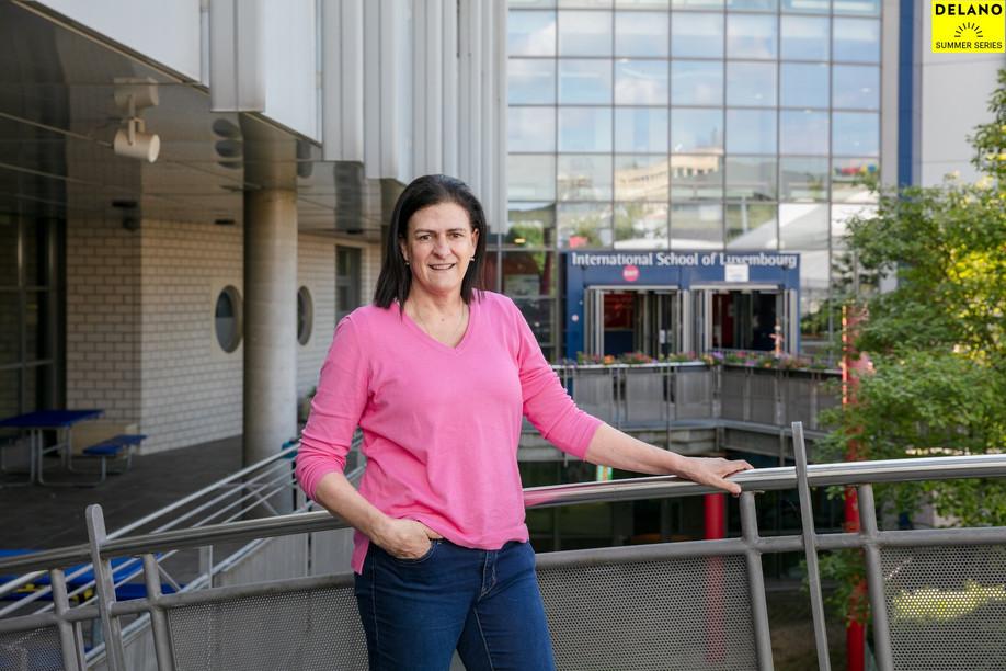 Elizabeth Cutshall, maths teacher at ISL, has called Merl home for the last 15 years. Romain Gamba/Maison Moderne