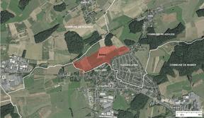Le développement d'Elmen se situe entre Capellen, Koerich et Kehlen. ((Illustration: SNHBM))